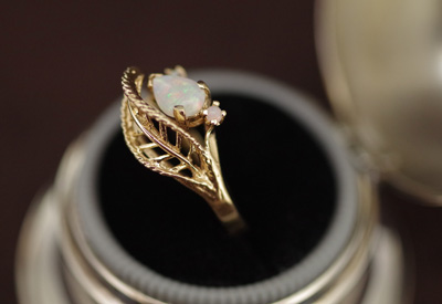 Ring オパール 14Kリング*2715