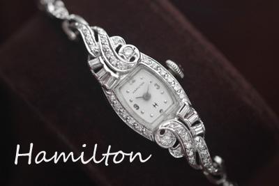 ハミルトン 大粒ダイヤモンド
