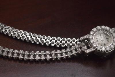アンティーク オメガ ダイヤモンド