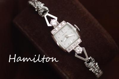 ハミルトン ダイヤモンド アンティーク