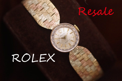 ロレックス 9K Tri-Color! アンティークカクテルウォッチ
