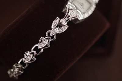 ハミルトン 14K ダイヤモンド アンティークカクテルウォッチ*2681rolex