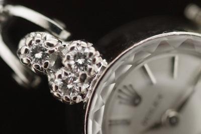 ロレックス 14Kダイヤモンド テニスブレス アンティークカクテルウォッチ*2773rolex