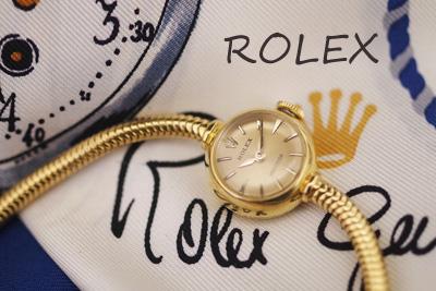 ロレックス 18金  アンティークカクテルウォッチ *2930rolex