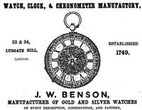 James William Benson ジェームズ・ウィリアム・ベンソン
